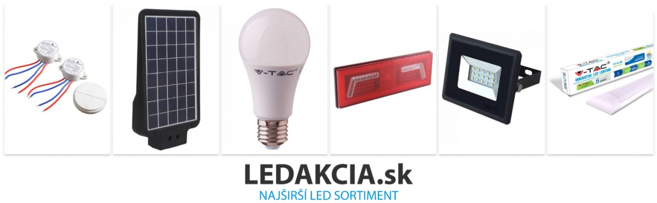 Najširší LED sortiment